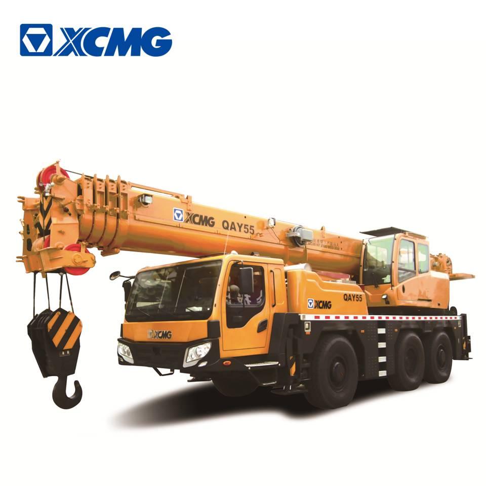 Xcmg оригинальный 55 тонн QAY55 all terrain Кран машина