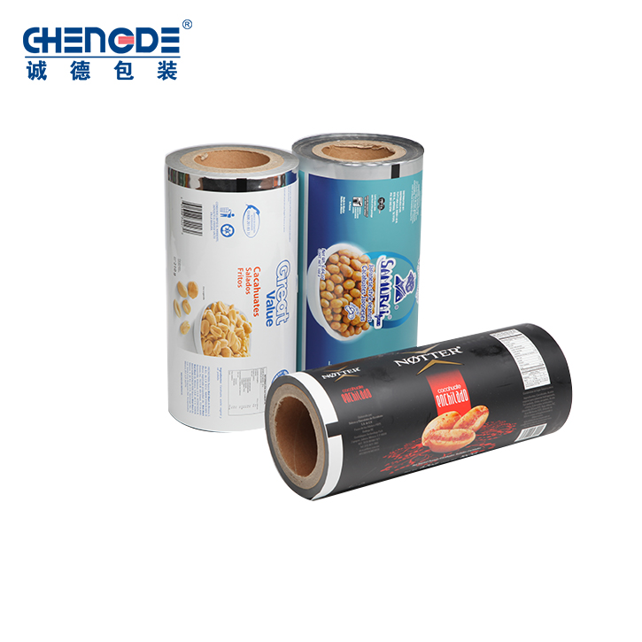 Factory Manufacture Various Soft Cookies Packaging Roll Film