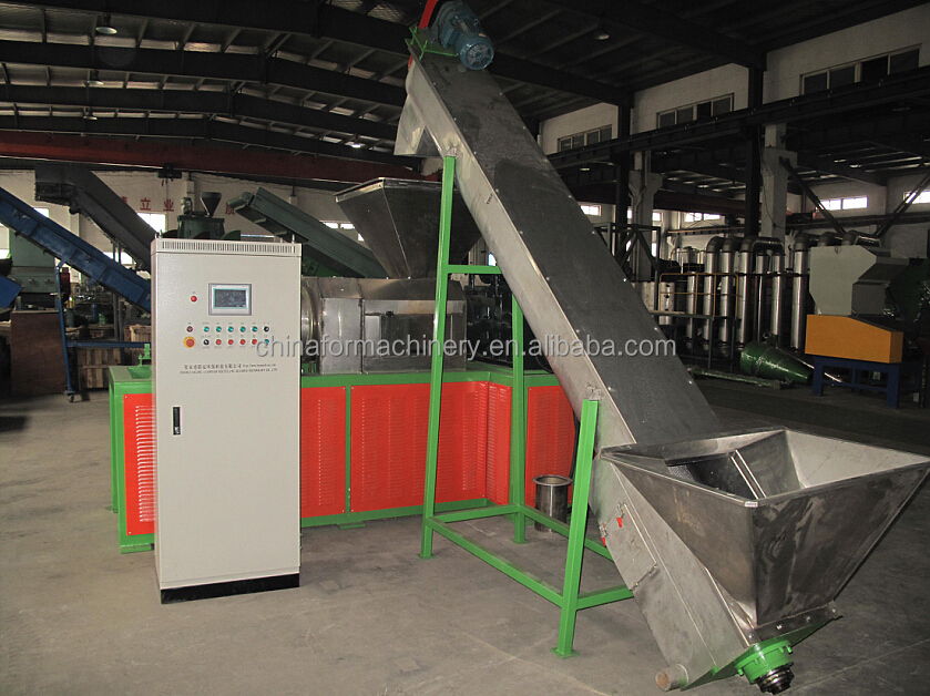 plastic crusher/plastic crushing equipment/pp film dryer
