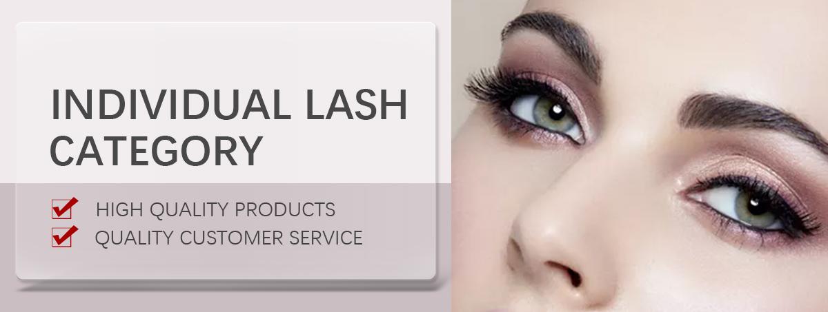 8971038809a Seashine hot selling individual lashes synthetic eyelash extensions 16 rows