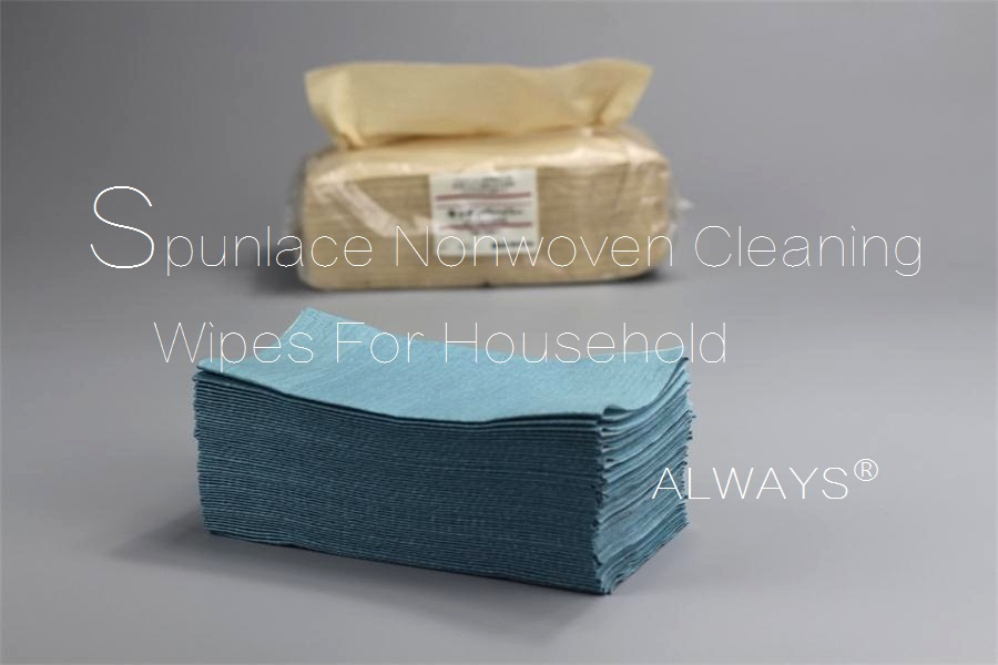 China Manufacturer Extractable Disposable Nonwoven Wiper household dish cleaning Wipes Rags