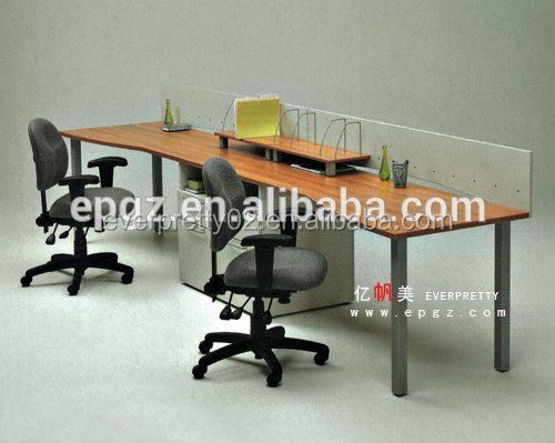 2015 Malaysia Style 2-Person Office Workstation Office Desk for Sale