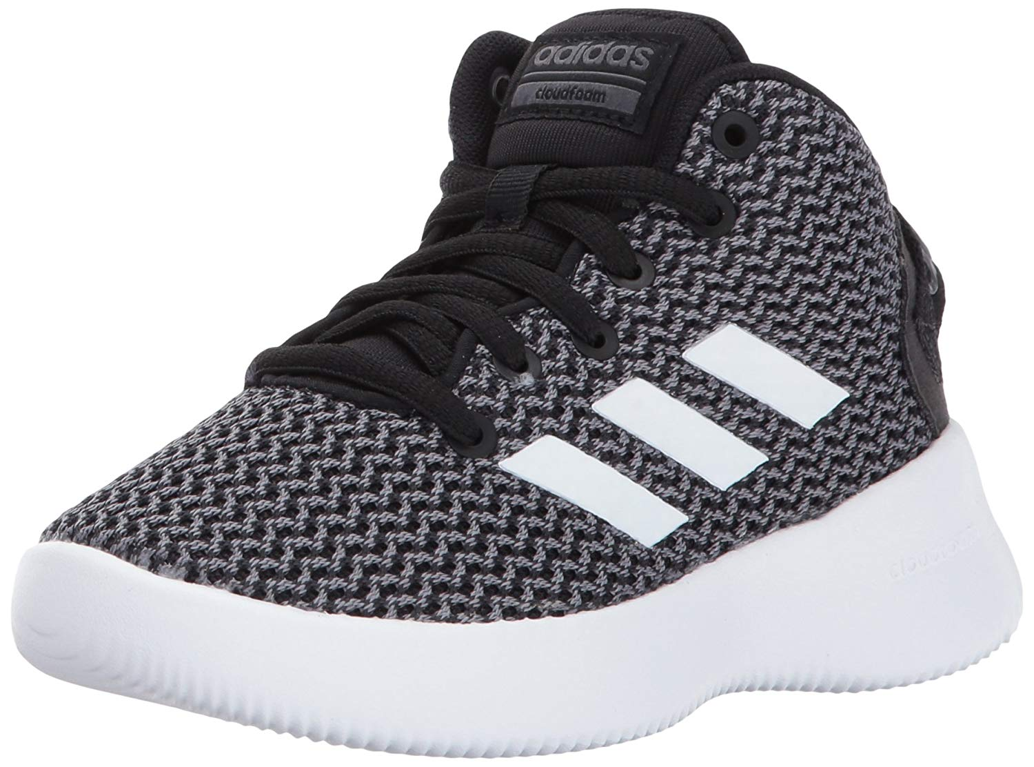 654a74145ae Get Quotations · adidas Neo Boys  CF Refresh Mid K Sneaker