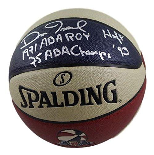 Dan Issel Autographed Denver Nuggets ABA Basketball 3 INSC JSA