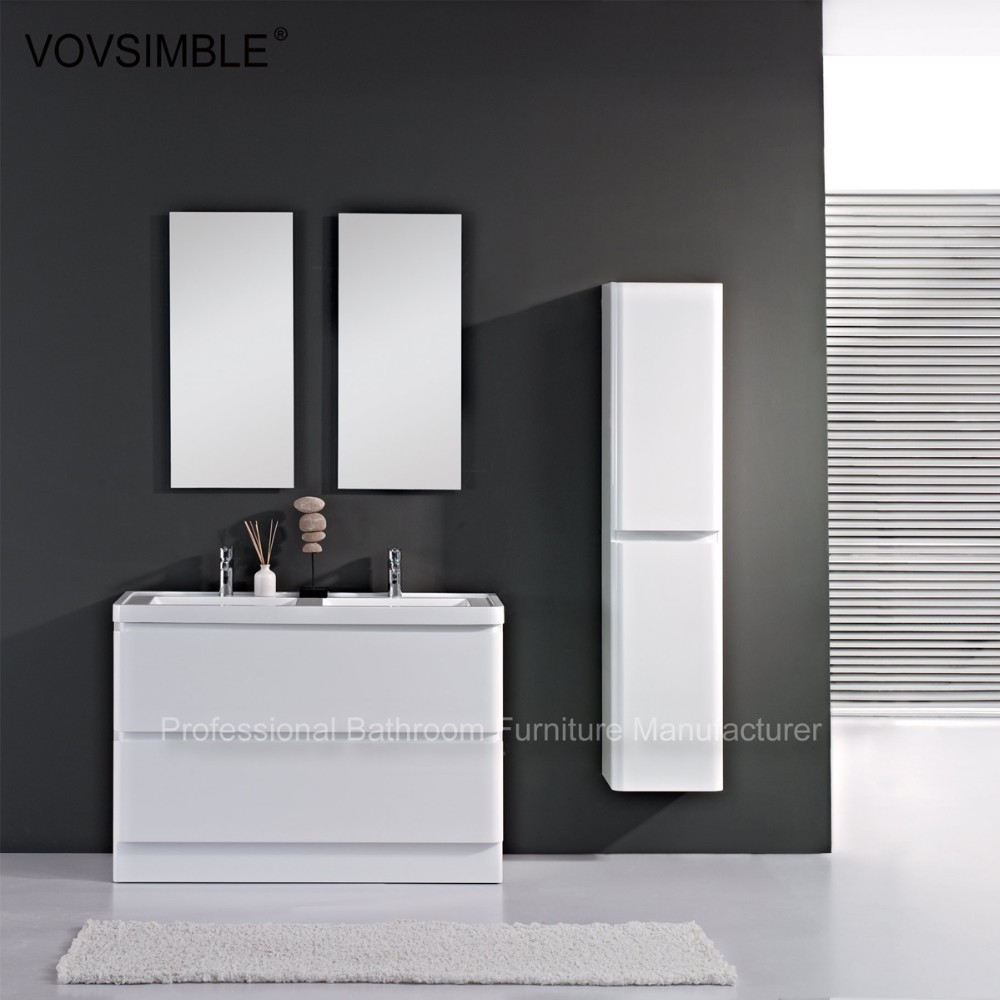 2016 new bathroom vanity cabinets freestanding white for New bathroom 2016