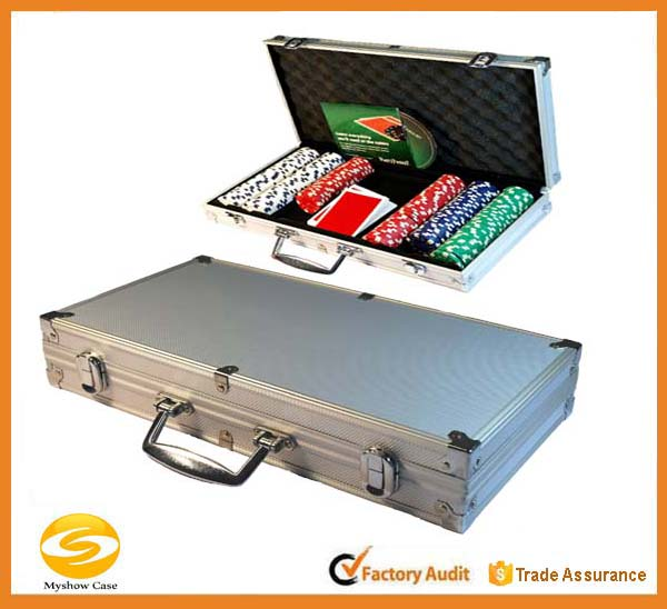 300 st Custom Aluminium Poker Chip carry Case