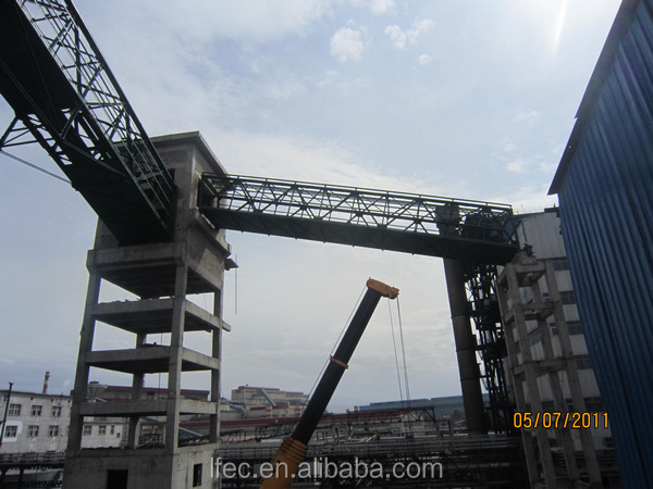 Large Span Prefab Structural Steel Bailey Bridge