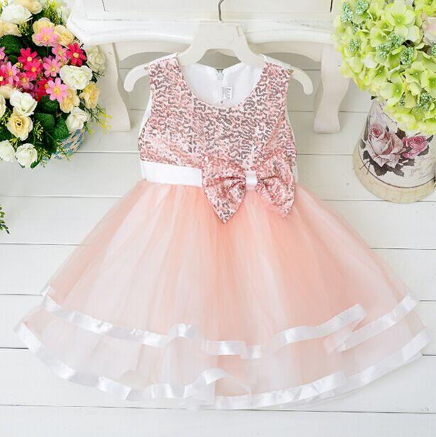 Venta al por mayor vestidos para niñas chinos de fiesta-Compre ...