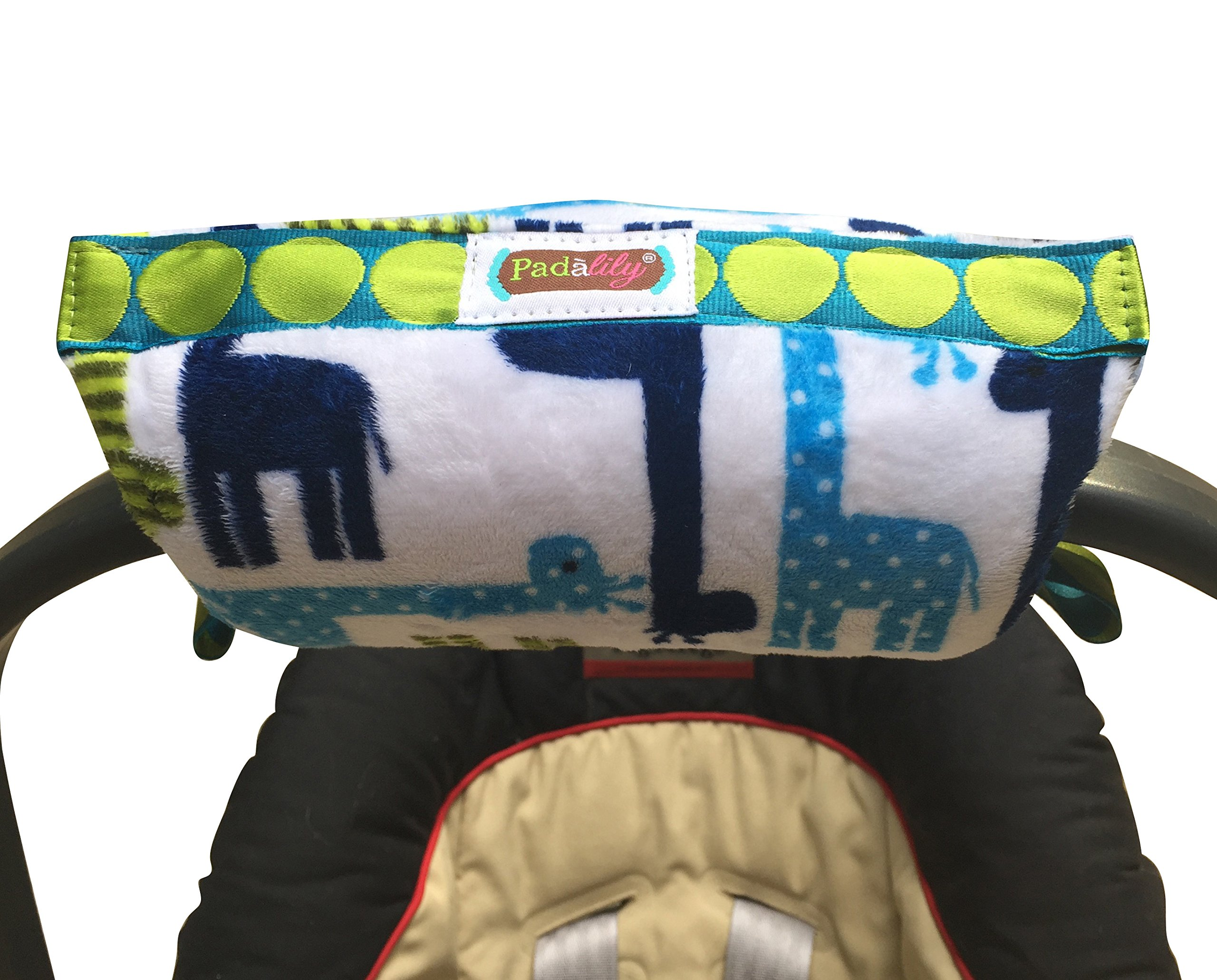 Get Quotations Padalily The Original Car Seat Handle Cushion Pad Pillow Newborn 0 12 Months
