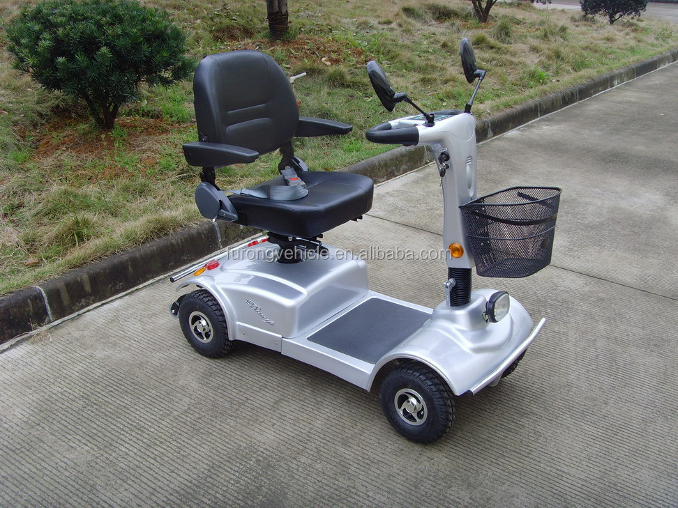 OEM 4 wheel disabled person Electric drive Mobility Scooter for Adults