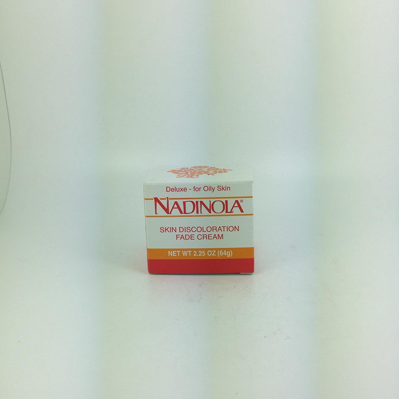 Nadinola Skin Discoloration Fade Cream- 2.25oz- Deluxe- For oily skin
