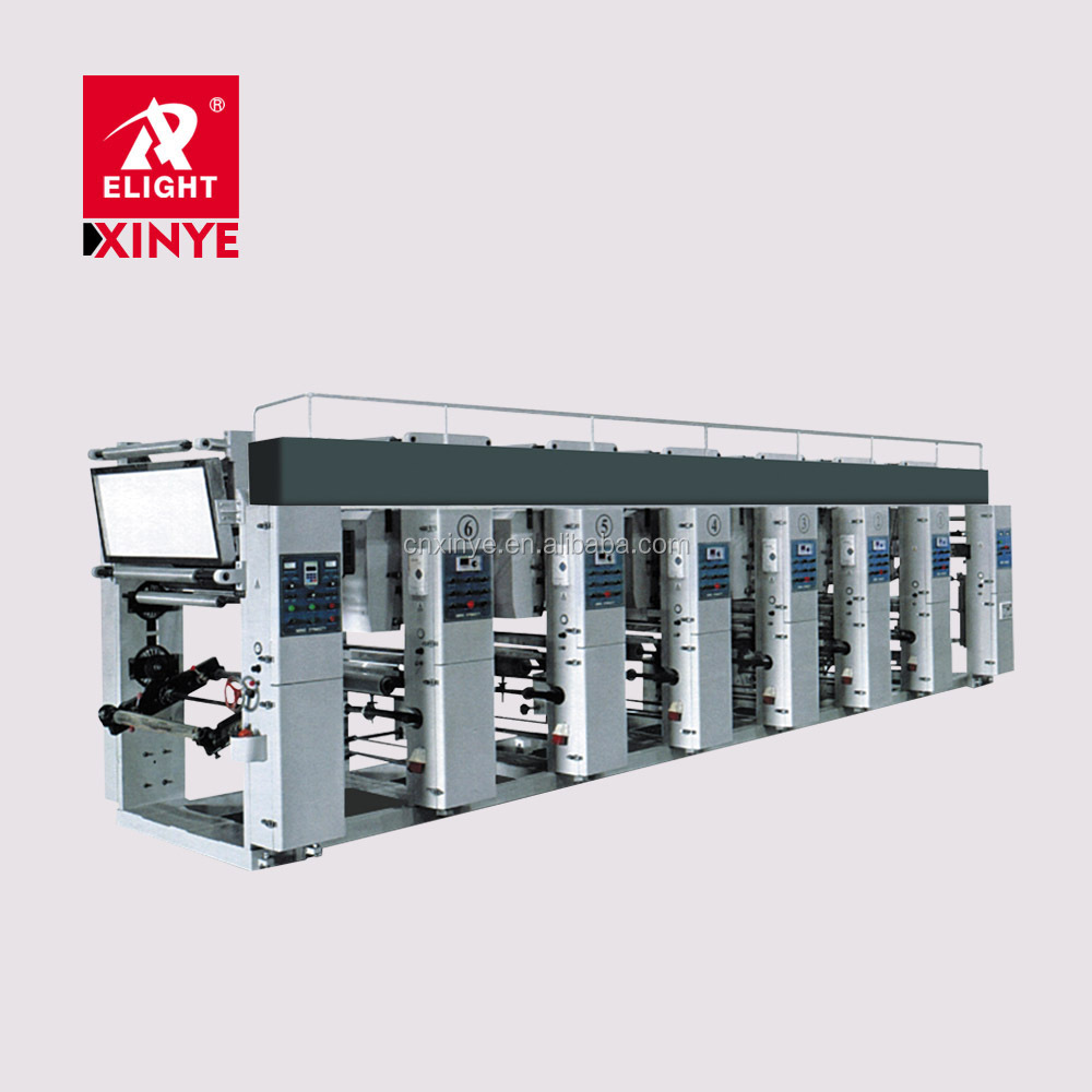 High Quality Rotogravure Printing Machine