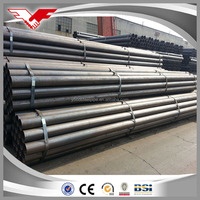 Tianjin square rectangular pipe square ERW steel pipes pipeline construction company