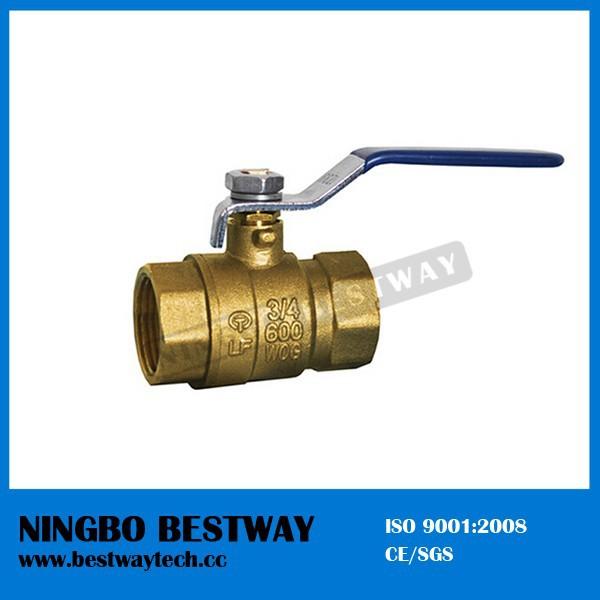 Lead free ball valve