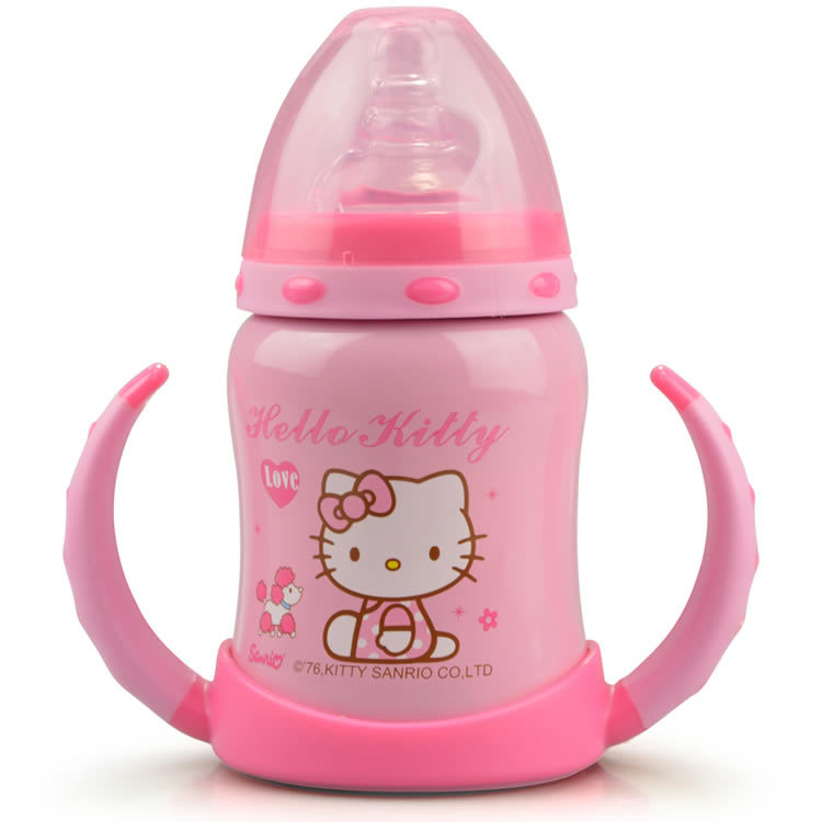 2015 New Arrived Vacuum Feeder For Baby Hello Kitty