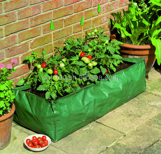 Outdoor Patio Vegetable Planter Growing Bag For Garden Planting