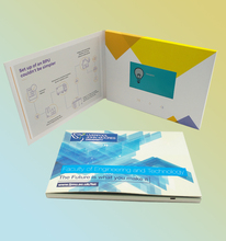 IPS Screen Digital Brochure Lcd Screen 5 Inch Video Customize 5'' Promotion Greeting Card/Advertising Card