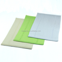 rectangle plain table mat wicker
