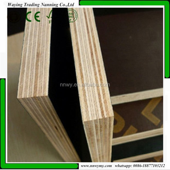 18mm x 1250mm x2500mm 120gr/m2 phenolic Film Faced plywood