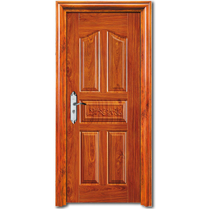 HS-1857 china manufacturer directly sale steel security doors turkish antithief bullet proof steel security doors