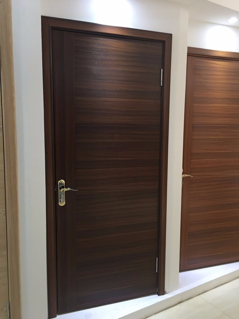 Inside Hotel Room Door: Modern House Design Wood Veneer Door Skin / Melamine