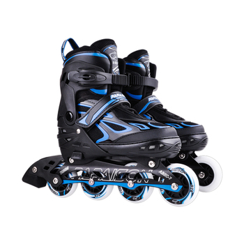 2018 hot sale 4 rodas do plutônio Ajustável light-up rolo de rodas patins inline
