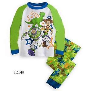 Wholesale Bangladesh Boutique Clothes Cotton Fabric Print Kids Pajama Sets