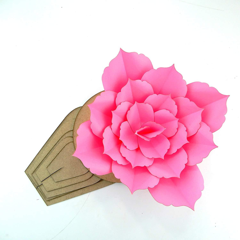 Buy Paper Flower Template Kit Pattern Diy Make Your Own Flower