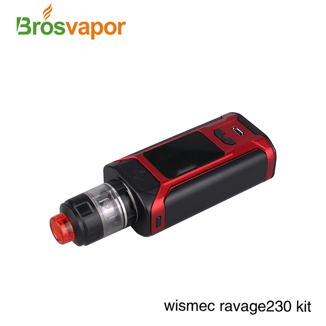First Batch 2017 Newest 2ml/ 4ml Wismec Sinuous Ravage 230+GNOME EVO Tank
