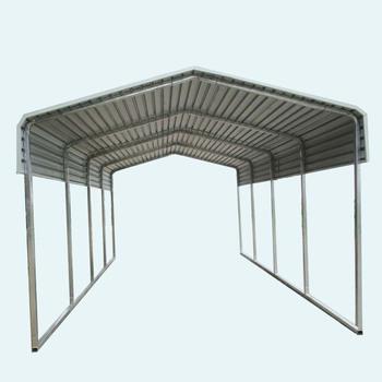 6x9m Metall Carport Mit Abstellraum / Schöner Metall Carport Mit  Abstellraum - Buy 6x9m Metall Carport Mit Abstellraum,2  Pkw-garage-kits,Tragbare ...