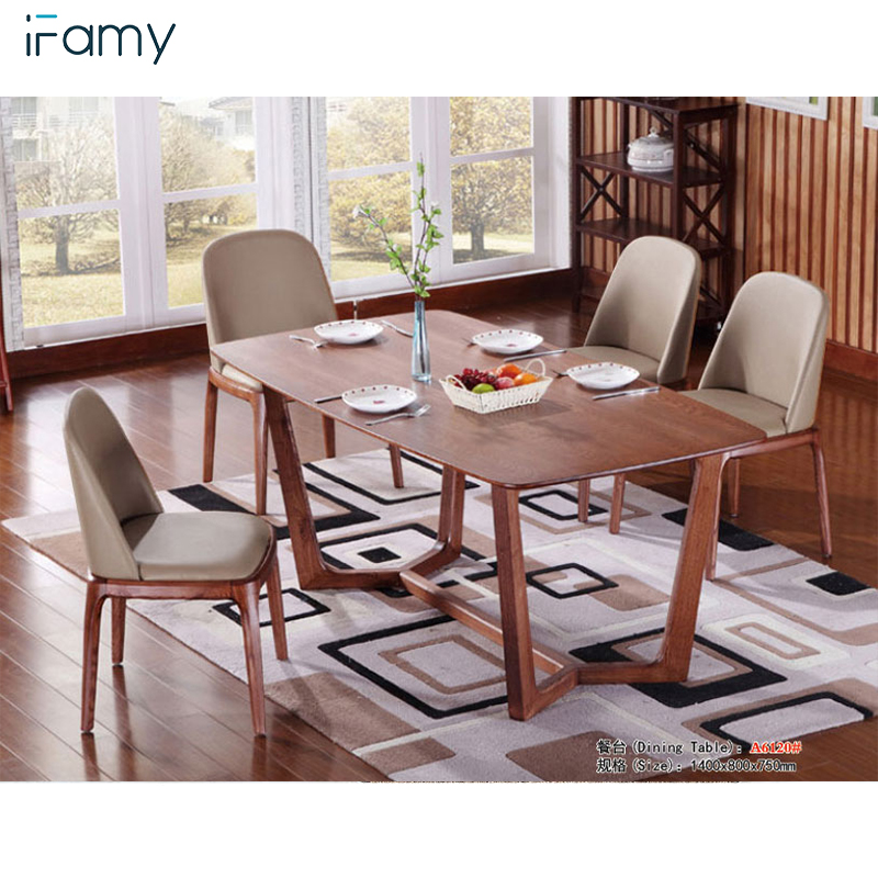 Rectangular Wooden Dining Table 4 Seater Dining Table Set Buy Dining Table Set Wooden Modern Dining Table Designs In Wood Solid Wood Dining Chair Product On Alibaba Com