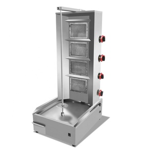 Electric Used Small Chocolate Charcoal Kebab Bbq Grill Shawarma Machine