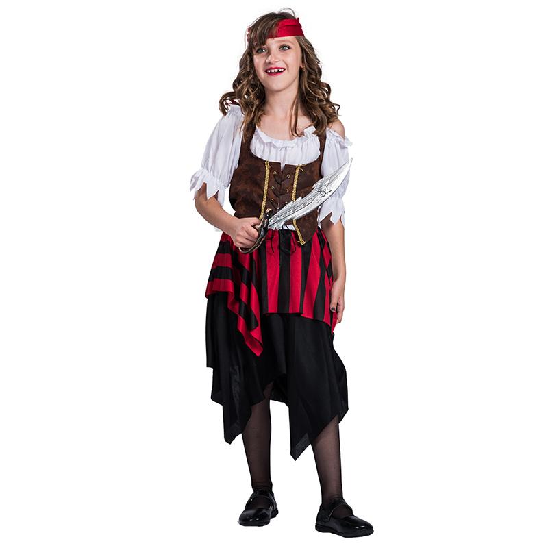 8ea66cdb Hot Sale Halloween Party Fancy Dress Kids Girls Pirate Costume For Children  Cosplay - Buy Pirate Costume For Kids,Pirate Costume For ...