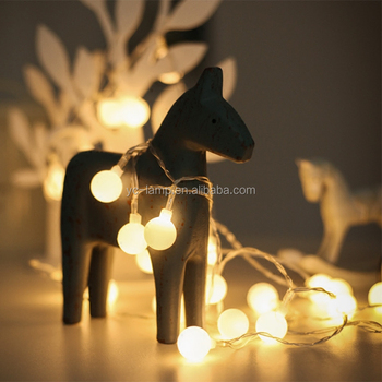 Indoor Warm White Led Short String Christmas Light For Wedding Party Decoration Use