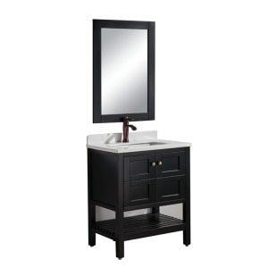 One People 12 Inch Deep Bathroom Cabinet Vanity With Mirror And Led Light