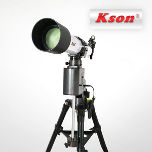 Auto Tracking Motorized Equatorial Mount 80720 720mm refractor 80mm  astronomical telescope for Advanced Users