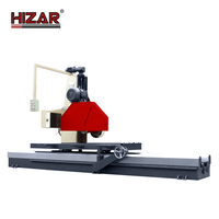 HIZAR HTCM-1000C Large blade Stone Block Granite Bridge Saw Cutting Machine /Stone Cutting