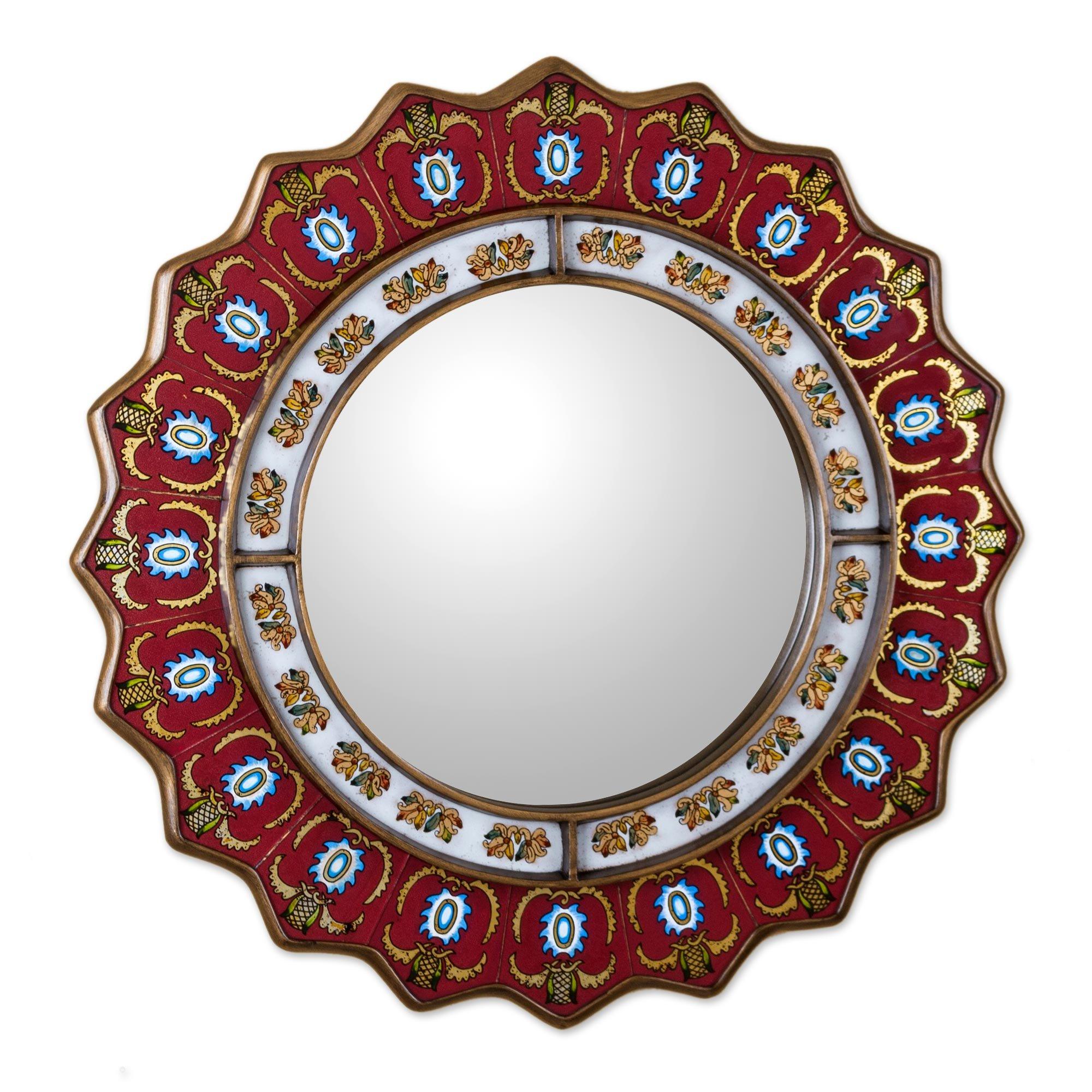 Medallion wall mirror linde citi pallet truck