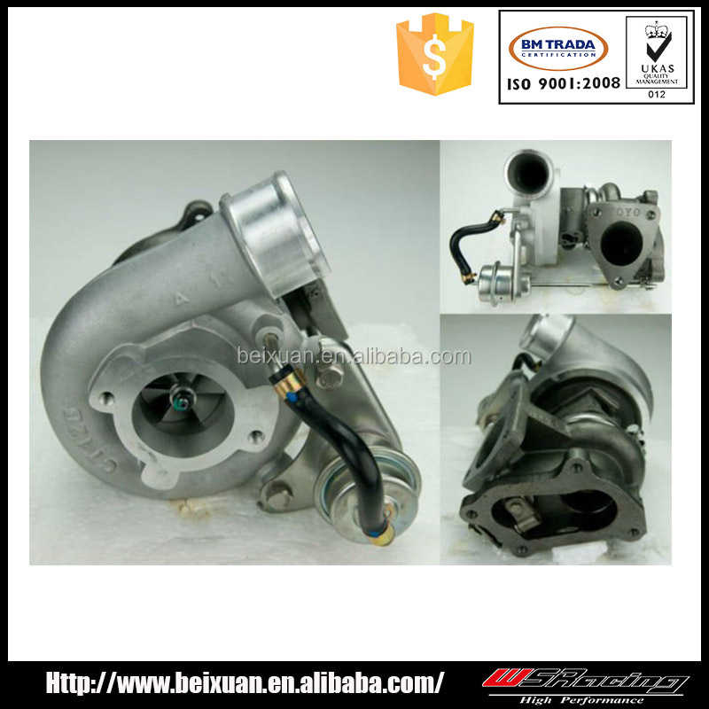 CT12B turbo for toyota hilux turbocharger 125HP