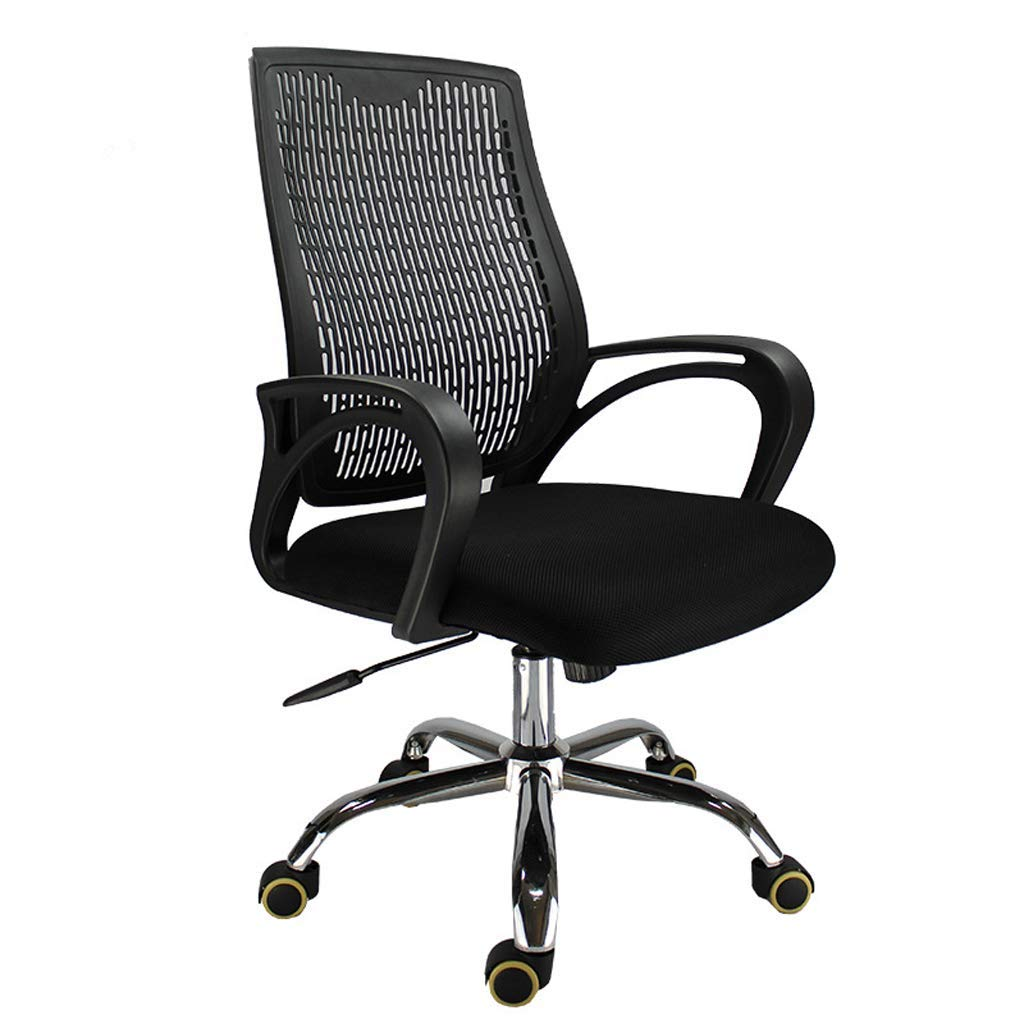 YTSLJ Liftable and Comfortable Fashion Staff Office Chair, Simple Mesh Steel Pulley Staff Computer Chair