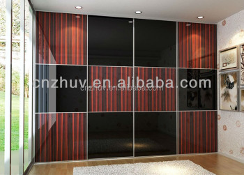 Double Color Latest Modern Wardrobe Design Furniture Bedroom Buy
