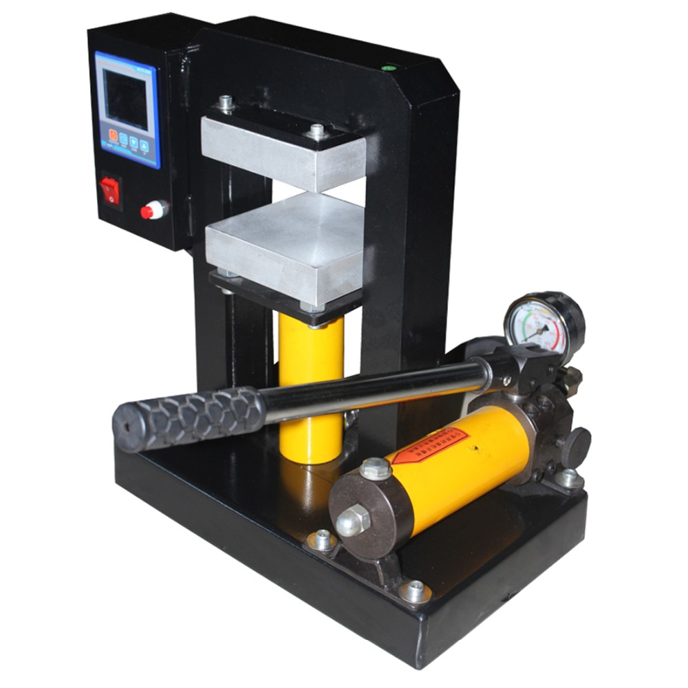 popular durable hydraulic rosin press with dual heat press 12cm x12cm plates