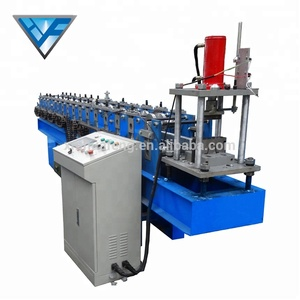 YX50-85 Metal Processing Machine Hat Shape Keel Machine Roll Forming Machine