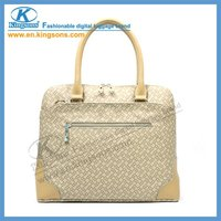 Fashion design pu lady laptop Briefcase