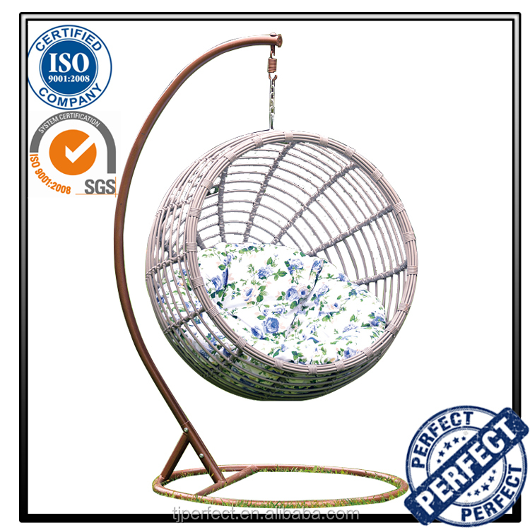 Cheap garden furniture group iron indoor swing