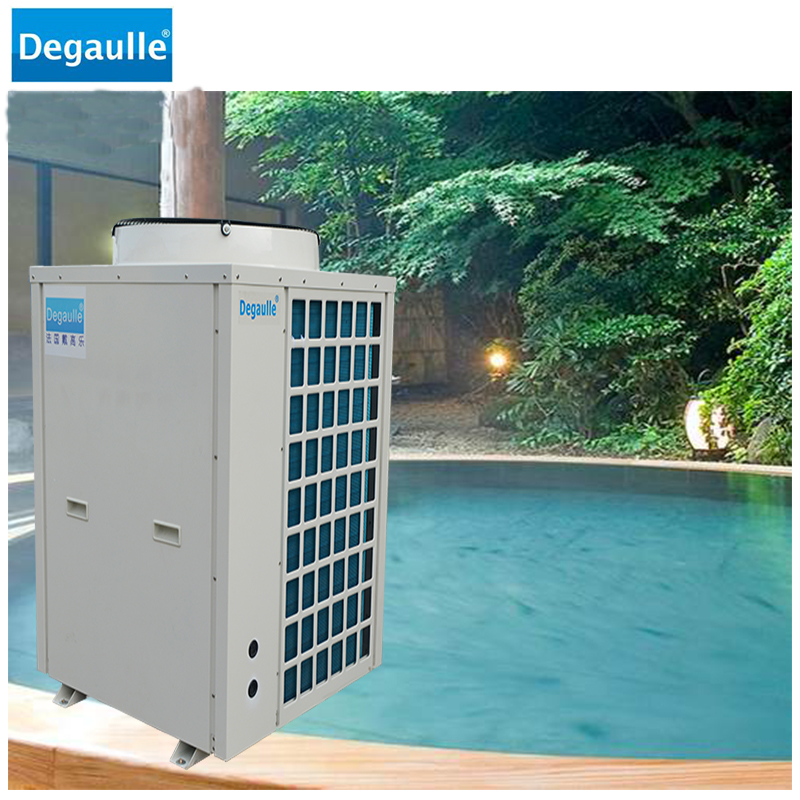Degaulle China Manufacturer Portable Ground Source Climatemaster Swimming Pool Heat Pump Water Heater