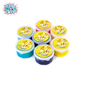 Wholesale DIY educational intelligent jumping clay, promotional non toxic colorful bounce putty, magic kids safety rubber putty