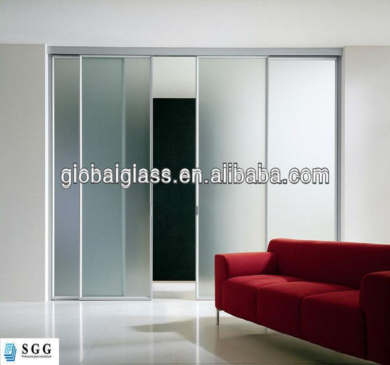High Quality Opaque Glass Wardrobe Sliding Doors Factory Buy