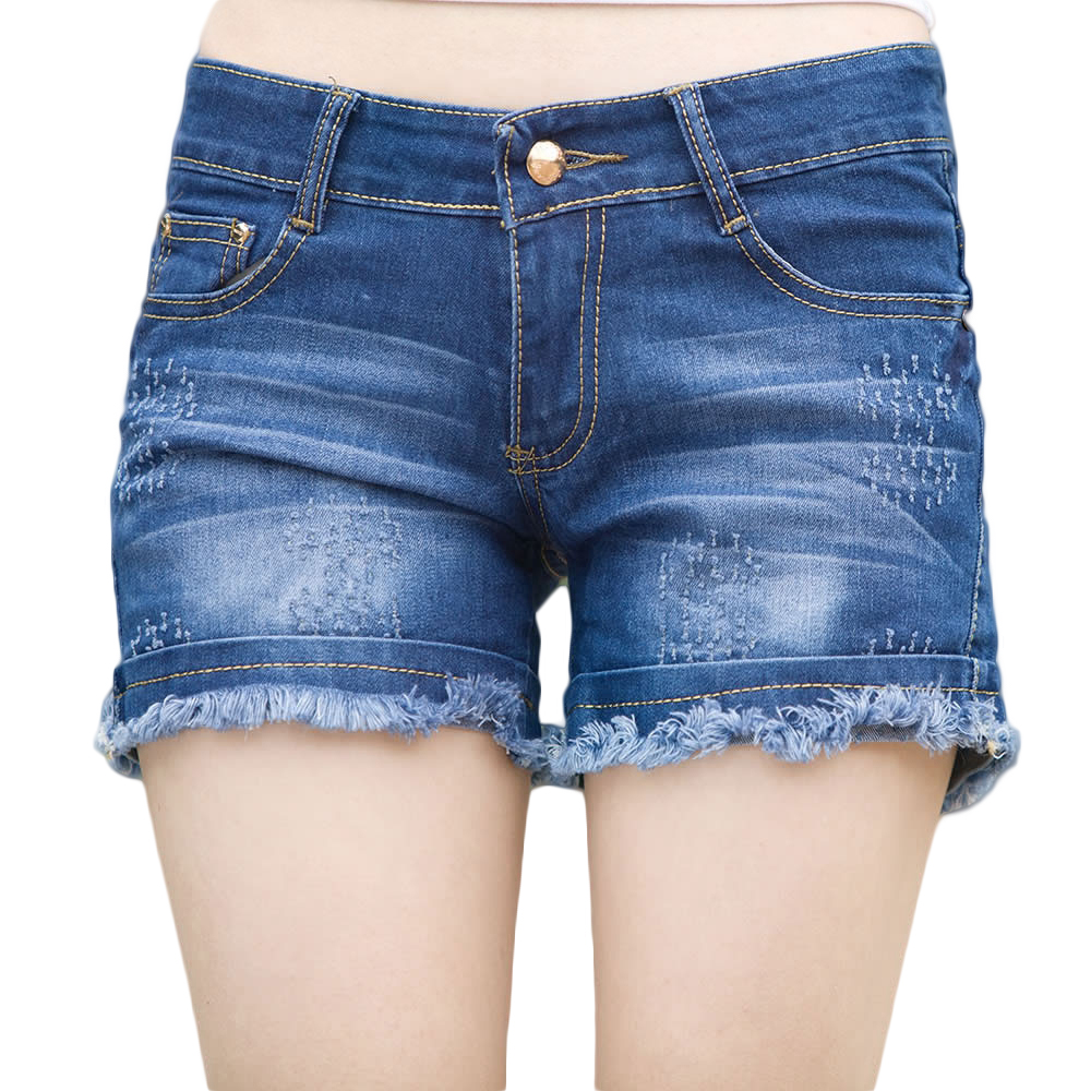 Pantalones Cortos De Mezclilla Cortos - Compra lotes