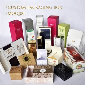 Professional Logo Printed Gift Packaging Cardboard Paper Cosmetic Box,Paper Packing Box UV Varnish Printing Packaging Boxes
